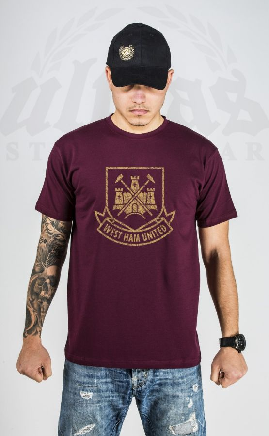 "T-shirt ""West Ham United"" Burgundy"