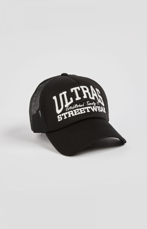 Trucker Hat Ultras Streetwear Black
